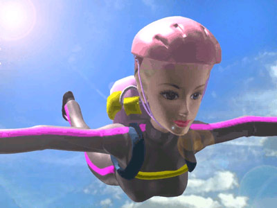 It's Sky Diving Secret Agent Barbie! New from Mattel