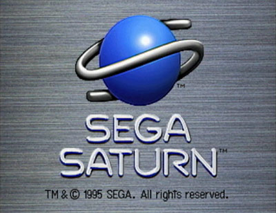 Sega Saturn splash screen