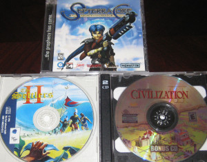 Septerra Core; Settlers II; Civilization III