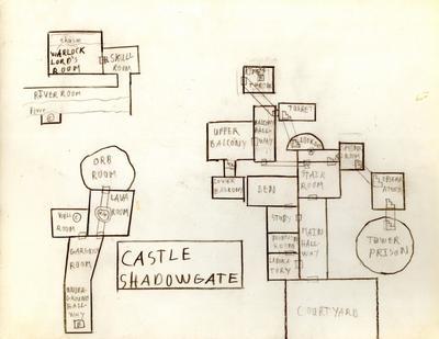 Castle Shadowgate map