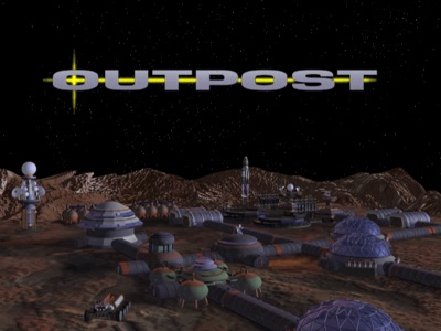 Outpost -- title screen