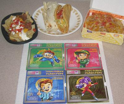 Taco Bell Tek Kids Feast