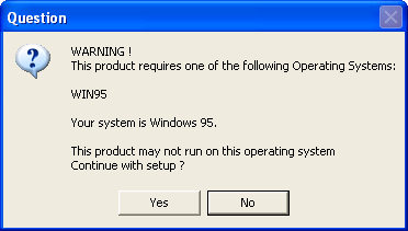 Terk & Tantor Power Lunch -- Windows 95 dialog