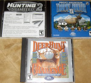 Trio of Hunting Games