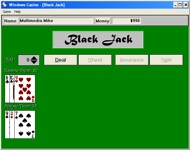 Visual basic casino game seminole casino sample