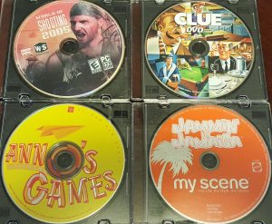 World of Shooting 2005; Clue DVD; Ann's Learning Games; Jammin' In Jamaica