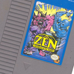 Zen: Intergalactic Ninja Cartridge